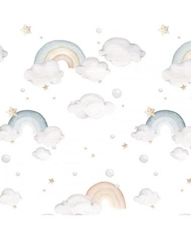 Papier peint arc-en-ciel