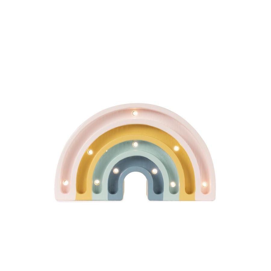 Lampe veilleuse arc-en-ciel mini, rétro