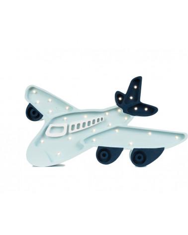 lampe veilleuse en bois avion