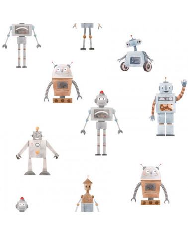 Papier peint robots
