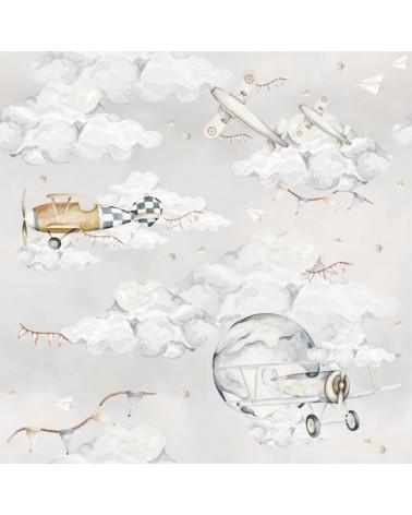 papier peint enfant avions