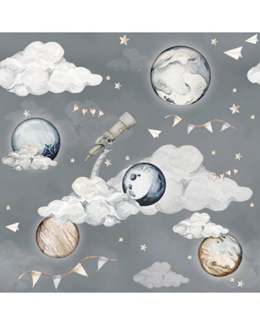 Papier peint planètes