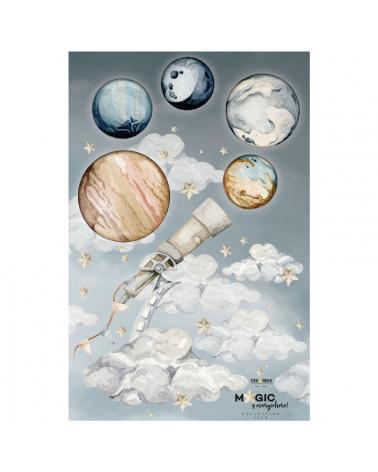 Sticker enfant planètes