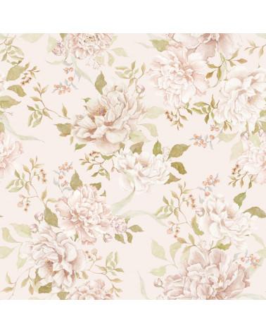papier peint jardin romantique