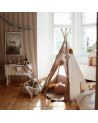tipi en lin couleur naturel