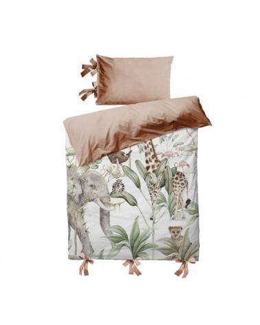 parure de lit animaux de la savane