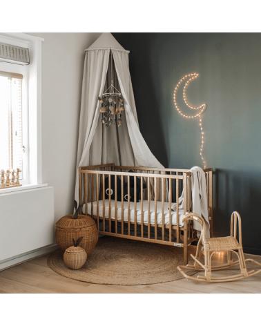 Lit bébé star dust vintage Woodies for dreams