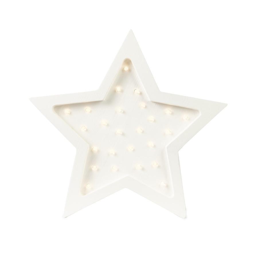 lampe veilleuse en bois étoile