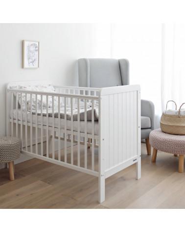 lit bébé country cot 60 cm x 120 cm woodies safe dreams