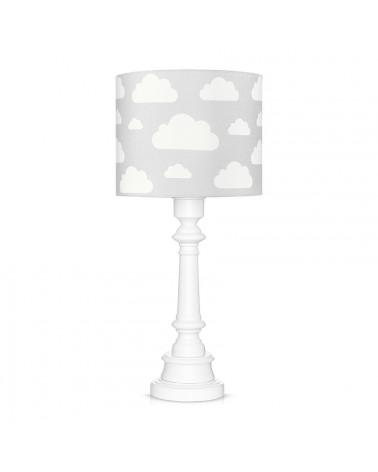 Lampe à poser nuages gris