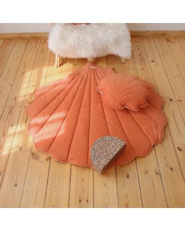 tapis de jeu coquillage papaya