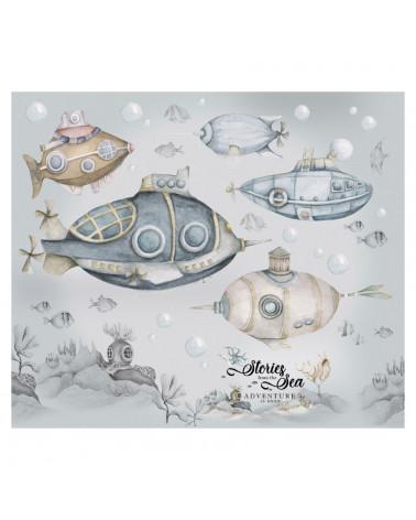 stickers enfant sous-marin