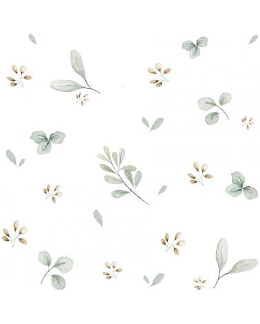 papier peint mini feuilles