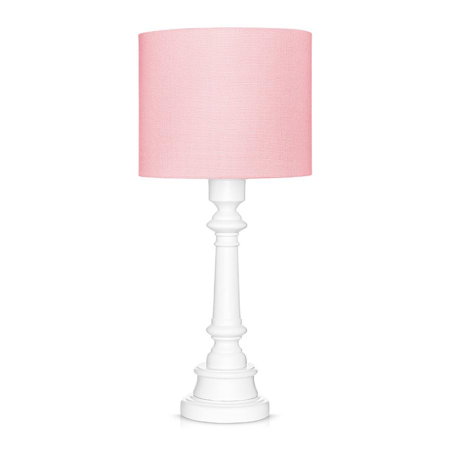Lampe à poser classique rose