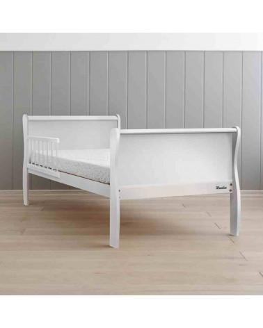 Lit junior noble bed blanc 70 cm x 140 cm