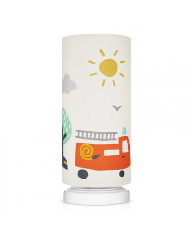 Lampe de chevet tube voitures