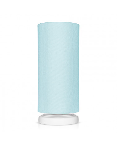 Lampe de chevet tube classique menthe