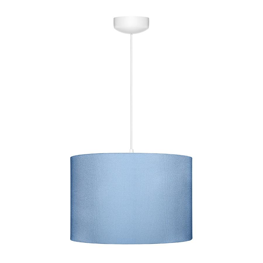 abat jour bleu Suspension classique bleu