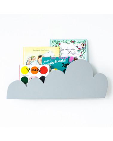 Étagère grise forme nuage