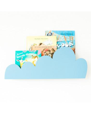 étagère nuage bleu