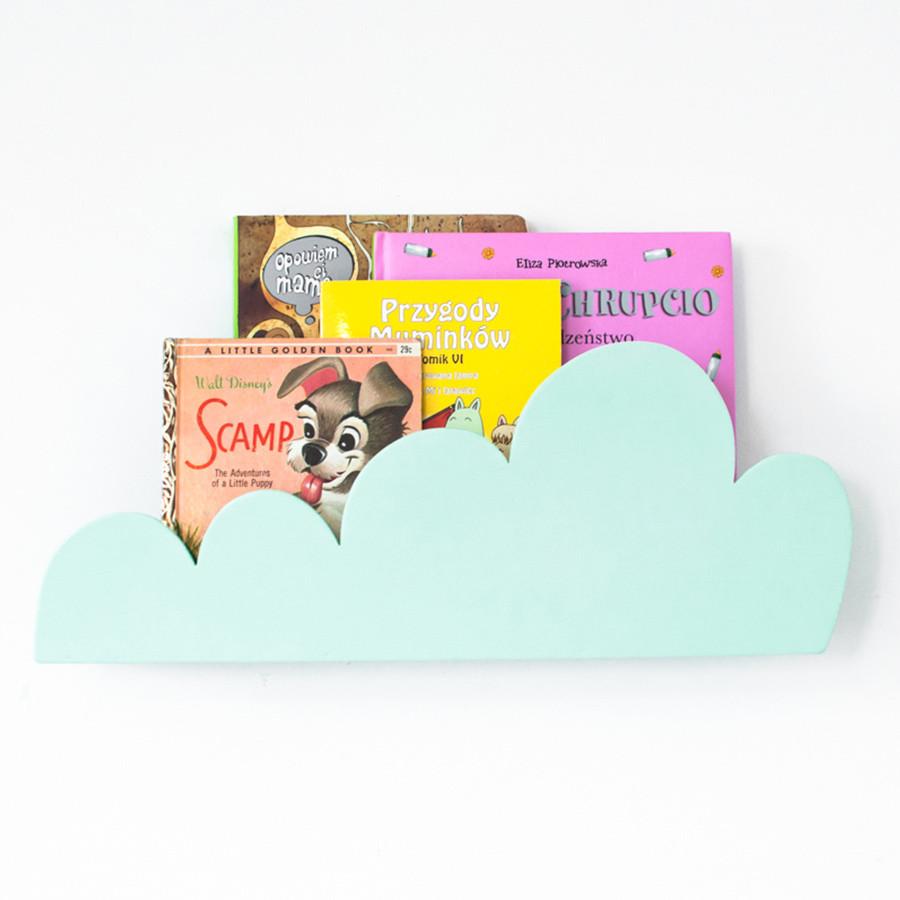étagère nuage menthe