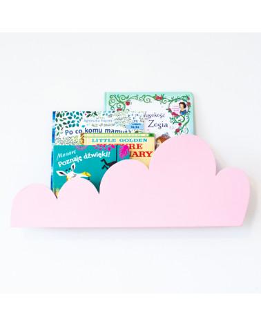 étagère nuage rose
