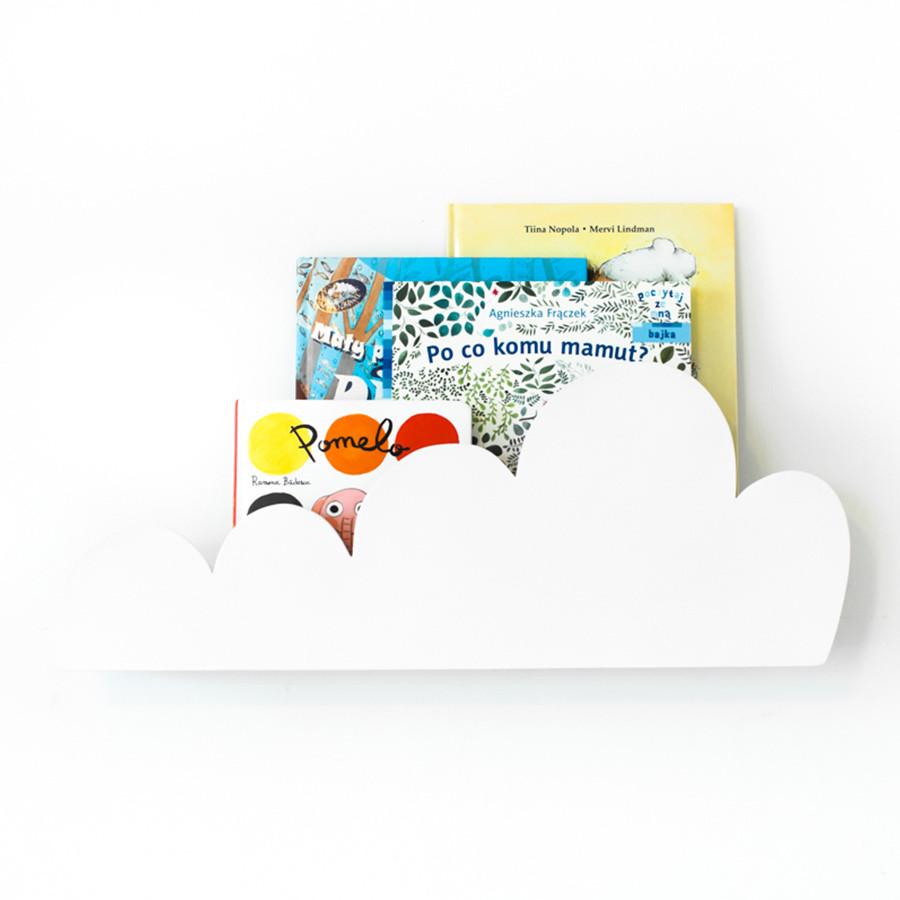 étagère nuage blanche