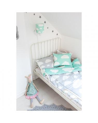 Coussins décoratif menthe nuages chambre