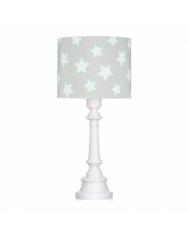 Lampe à poser étoiles gris
