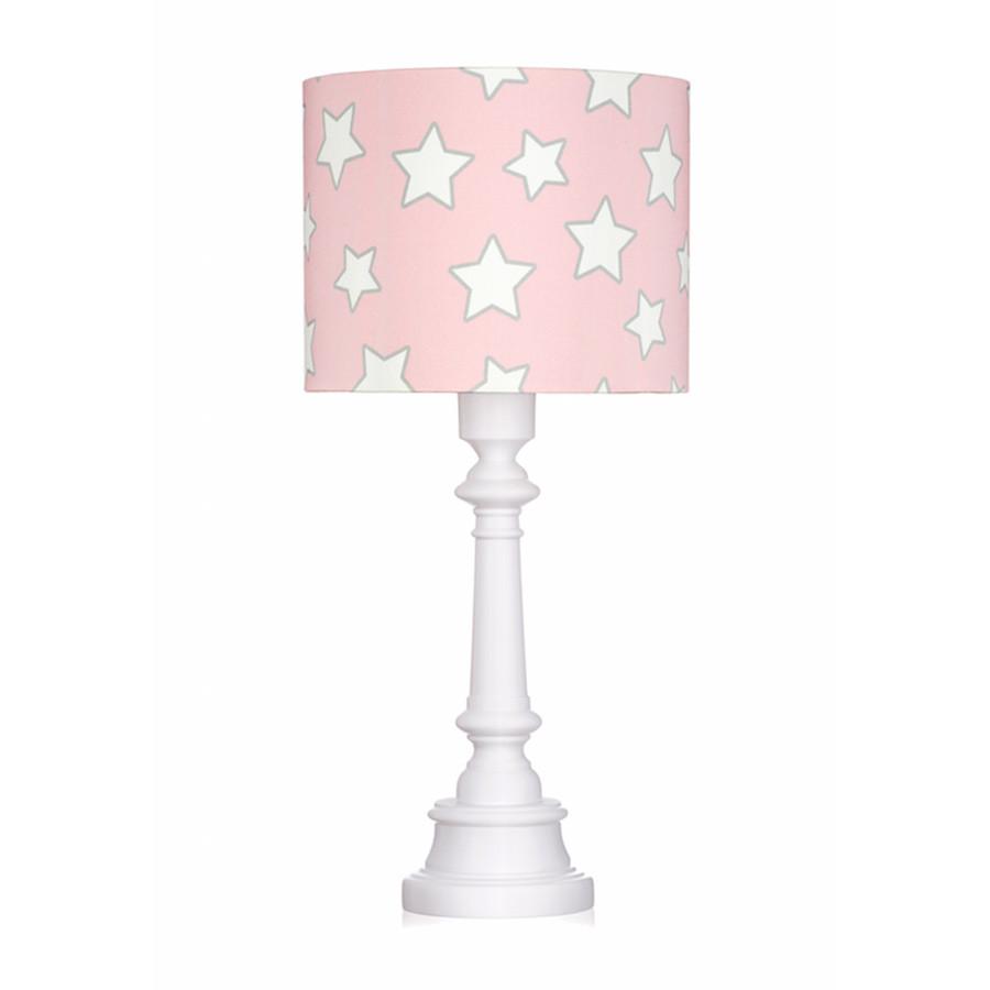 Lampe A Poser Etoiles Rose