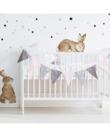 stickers enfants petits lapins 3