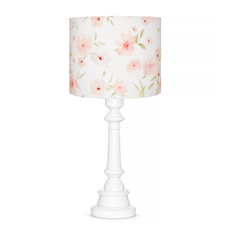 Lampe À Poser Collection Motif Blossom Floral CQdsrht