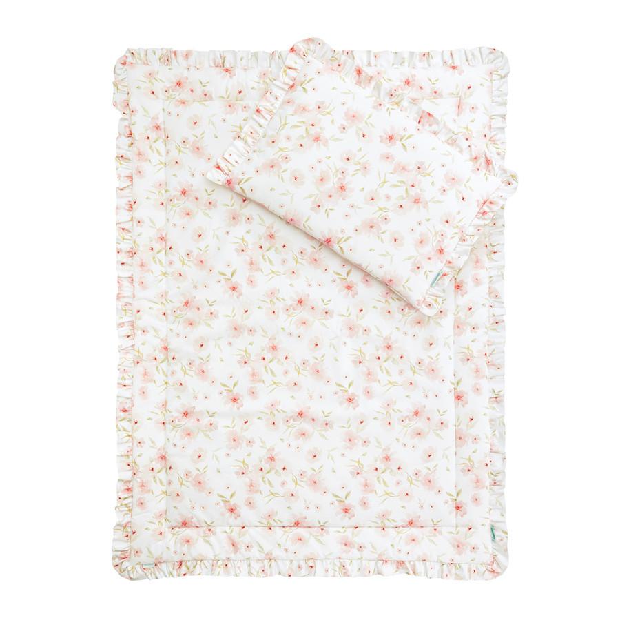 Parure de lit enfant motif fleurs