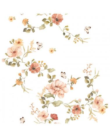 papier peint floral vintage dekornik -petit bison