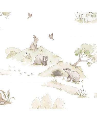 Papier peint La forêt enchantée