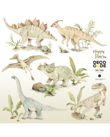 Stickers enfant dinosaures