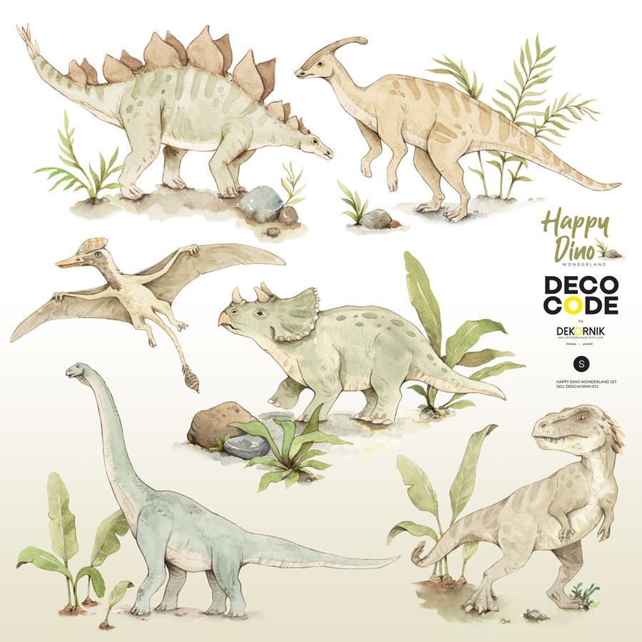 Stickers enfant dinosaures