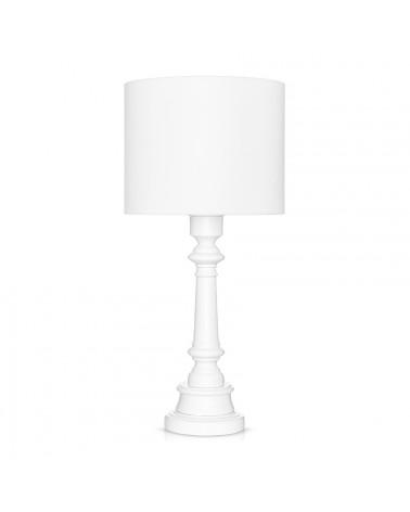 Lampe à poser classique blanche