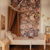 Incroyable papier peint Bouquet de fleurs:-) Disponible depuis peu sur petitbison.fr :-)   Qu'en pensez-vous ? Belle soirée:-)   Photo : @danusiowo  #kidsroom #babyroom #decorationinterieur #decorforkids #kidsdecor #decochambrebebe #chambrebebe #chambreenfant #chambrebebefille #papierpeint #papierpeintenfant #fleurs #futuremaman #nature #decomurale #bebe #papierpeintbebe #dekornik #petibisonboutique #romantique #bébé2021 #chambre #decointerieur