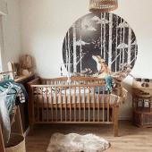 Cette jolie chambre est prête à l'arrivée de bébé :-) Merci beaucoup à @moannalysa pour cette belle photo !  Grand sticker rond renard est disponible sur petitbison.fr :-) Et le petit lit bébé vintage revient bientôt en stock !   #kidsroom #babyroom #decorationinterieur #chambrebébé #decorforkids #kidsdecor #decochambrebebe #decoenfant #chambreenfant #chambrebebe #decomurale #stickers #stickersenfant #bebe #renard #petitbisonboutique #dekornik #futuremaman #bébé2021