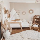 Inspiration chambre enfant ! Un très joli cocon douillet chez @kelly_dcsta avec notre tapis et coquillage en lin couleur sable :-)   #kidsroom #babyroom #decorationinterieur #decorforkids #kidsdecor #decochambrebebe #chambrebebe #chambreenfant #tapisenfant #coussin #coquillage #decoaddict #decointerieur #chambrebébé #futurmaman #petitbisonboutique #moimili