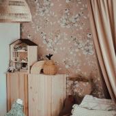 Jolie inspiration chambre enfant aux tons naturels:-) Papier peint : trèfles beige :-)  Belle soirée!   Photo : @monika__debska   #kidsroom #babyroom #decorationinterieur #decorforkids #kidsdecor #decochambrebebe #chambrebebe #chambreenfant #trèfles #papierpeint #papierpeintenfant #fleurs #futuremaman #nature #decomurale #bebe #papierpeintbebe #dekornik #petibisonboutique #romantique #naturel #bébé2021 #tapisserie